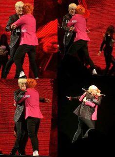 Hug him and don't let him go...never let him go