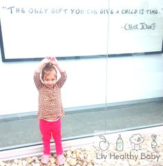 Let us do all the work! Liv Healthy Baby an all organic baby food line delivers fresh, refrigerated food on a weekly basis allowing you to spend more time with your little ones!