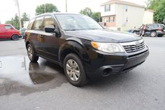 """2009 Subaru Forester AWD 2.5 X 4dr Wagon 4A. If you like your SUVs to be true to the """"Utility"""" in """"Sport Utility Vehicle,"""" while still being small enough to comfortably maneuver in a city, the Forester may be the vehicle for you. With a low starting price, standard AWD, proven reliability, more towing power than many others in its class and great visibility all around, there's certainly a lot to love."""
