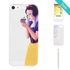 Snow White Transparent TPU Back Cover Case for iPhone 5 & 5S - On Sale for $9.99 (was $22.50)