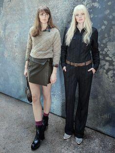 Der Workwear-Look gehört zu unseren Favoriten in diesem Winter