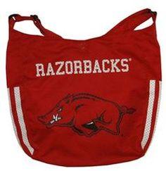Arkansas Razorbacks Ladies Purse Athletic Mesh