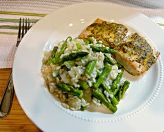 A Squared: What's For Dinner Wednesday: Lemon & Asparagus Risotto