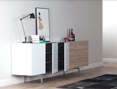 dressoir kast, dressoir design, dressoir modern, dressoir woonkamer, dressoir hout | SONOROUS.NL Tv Decor, Home Decor, Cabinet, Living Room, Storage, Furniture, Design, Modern, Clothes Stand