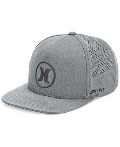 346919aed56 Hurley Men s Dri-Fit Icon 2.0 Perforated Logo Hat Jordan Cap