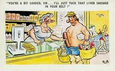 seaside comic postcards - Google Search