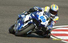 2002 On Yamaha R6 James Whitham's bike, @ Adria