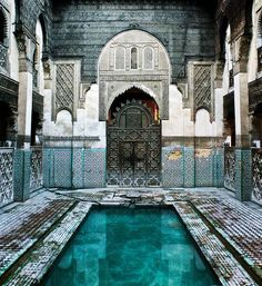 I wish I were there - Bath House Morocco