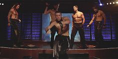 Pin for Later: 16 Channing Tatum Dance Moves That Will Send Your Thirst Into Overdrive Sigh — This One Channing Tatum Pony, Channing Tatum Dancing, Matthew Lewis, Neville Longbottom, Paul Rudd, Scream Queens, Chris Pratt, Nick Jonas, Zac Efron