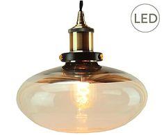 LED-Hängeleuchte Amber, Ø 22 cm
