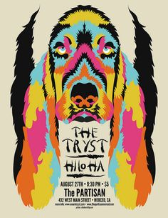 The Tryst - August 27th Poster  via Chicken Billy  Billy Hayes