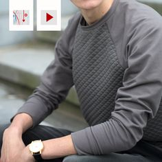 Chess Sweater los patroon + video