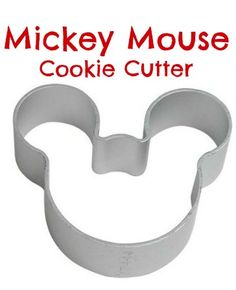 Mickey Mouse Face Shape Cookie Cutter - $0.60 + Free Shipping!