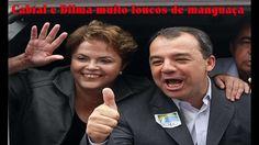 Depois da prisão de Sergio Cabral, vídeo em que ele e Dilma estão alcool...