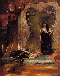 Benjamin-Constant  Jean-Joseph Constant dit Benjamin-Constant (1845-1902) était un peintre orientaliste et graveur français.