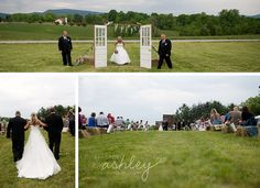 Rustic Vintage Field Wedding - Door Entrance - Photography by A Photo by Ashley