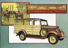 1934 International C-1 Station Wagon