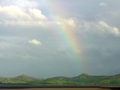 Rainbow over Ireland.
