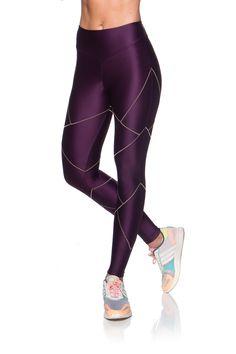 49efe7520ae68 Legging Fitness Cristal – Roupa de academia para o dia a dia – Mulher  Elástica Moda