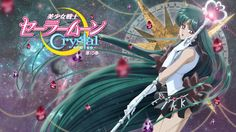 Sailor Moon Crystal Blu Ray Vol 10 complete full cover, featuring Sailor Pluto.