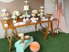 Dream Catcher Dessert Table
