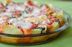 Spicy Kale Stuffed Shells by Pink Parsley Blog, via Flickr