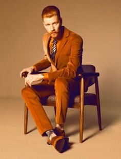 Redhead Men's Fashion | Famous Outfits