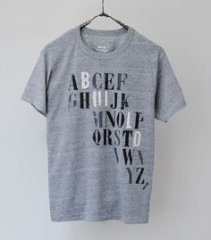 Alphabet Build Tee | Kai D. collection