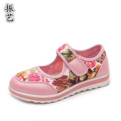 31.99$  Buy now - http://alis9s.shopchina.info/go.php?t=32744030724 - Shoes autumn kids fashion spring children shoes light set foot hook loop printing shoes red 4-7-9 years old baby girls shoes 31.99$ #magazine