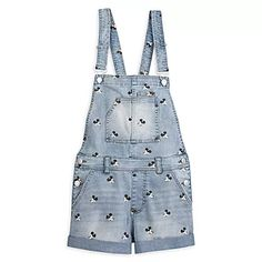 Keep it cool and classic with our denim overall shorts for juniors featuring an allover print of Mickey Mouse's iconic face. Rolled cuffs, plenty of pockets, and adjustable shoulder straps make this a comfy style staple. Disney World Outfits, Cute Disney Outfits, Disney Inspired Outfits, Disney Style, Disney Clothes, Disney Fashion, Disneyland Outfits, Cruise Outfits, Geek Fashion
