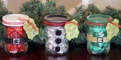 Christmas Kisses Treat Jars 1
