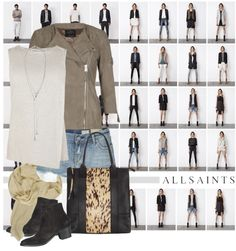 """""""AllSaints S/S 2013"""" by nikkeeb ❤ liked on Polyvore"""
