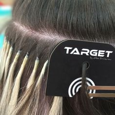 TARGET the new hair protector disk for placement hair extensions for hairdresser, salon and Hairdressing