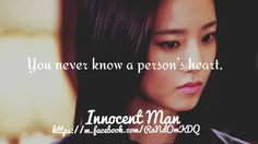 Innocent Man #KDrama #Quote
