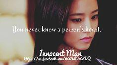 Innocent Man #KDrama #Quote