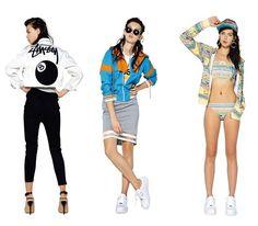436a86f74c5ac Trendy Women s Sneakers 2017  2018   Lookbook Stussy Women (Summer 2014)