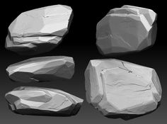 Rock Slab Sculpt , Jesse Carpenter on ArtStation at https://www.artstation.com/artwork/rock-slab-sculpt