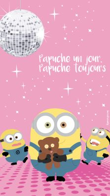 Papuche – Lily never grows up - Fond d'écran - Minion                                                                                                                                                                                 Plus