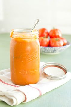 Ketchup | 2 tablespoons olive oil, 2-3 large red onions, diced, 2 teaspoons of fresh ginger (or 1 tablespoon of ginger powder), 2 cloves garlic, minced, 2 teaspoons cloves, a large pinch of salt and pepper, 1 teaspoon cayenne pepper, ¼ cup fresh basil, 1½ cups water, 2½ pounds of fresh tomatoes, roughly diced, ¾ cup + 2 tablespoons red wine vinegar, ¼ cup brown sugar