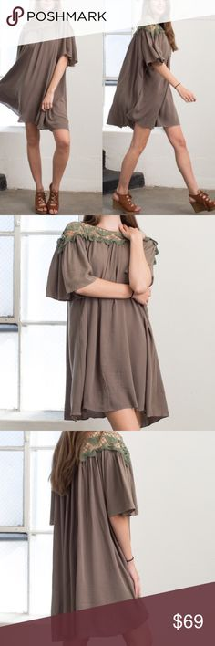 Lily Swing dress Boho chic style. Trendy and stylish. High quality✨✨✨these are roomy, comfortable and stylish. Dresses