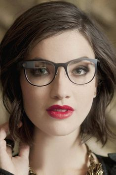 Wearable Tech: Google Glass in stylish prescription frames? - Ooh, the future has arrived in the present at last!!! ;-)