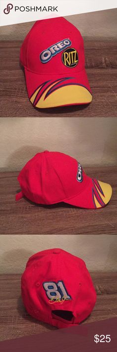 NASCAR Dale Jr 81 Oreo Ritz cap hat ad43c80815db