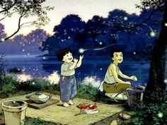Grave of the Fireflies. Saddest movie of all time.