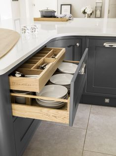 5 Ways to Spark Joy in the Kitchen | Laura Ashley Blog Clever kitchen storage ideas are essential in today's family home – the traditional heart of the home is no longer a space for cooking but also for dining, entertaining as well as being the hub of family life.