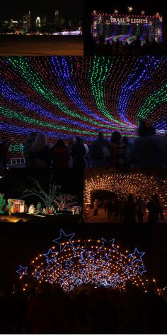 Austin Trail of Lights em Austin, Texas
