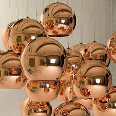 Tom Dixon Glass Ball Pendant Lights Creative Bubble Ceiling Lighting Gold/Copper/Silver Lampshade Pendant Lamp Multi Size Lighting Ceiling Light Ceiling From Dpgkevinfan, $53.02| Dhgate.Com