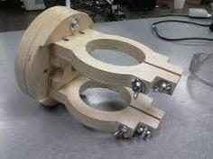 Resultado de imagen de how to make a truck and arm for homemade wood duplicator