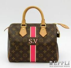 "LOUIS VUITTON handbag popular ""SPEEDY 25 MON MONOGRAM"". VERY NICE RECEIPT! Act original price € 905,- starting price € 265,-"