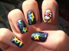 Mario #nail art