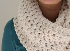 One Dog Woof: Cozy Bulky Infinity Scarf